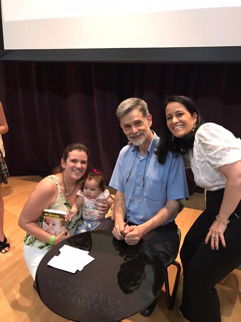 Abertura do evento Dr. Carlos González