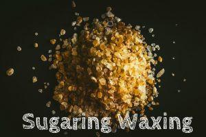 Persian sugar wax