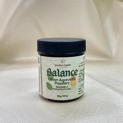 Balance Face Mask - Ubtan Ayurvedic