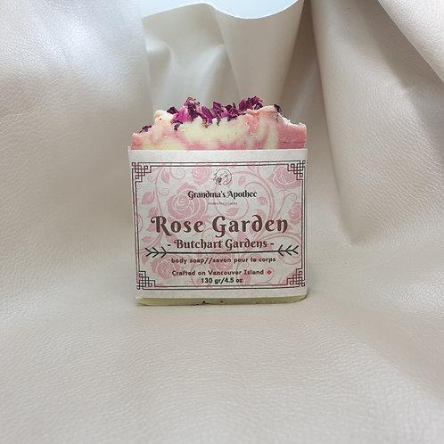 Rose Body Soap - Butchart Gardens