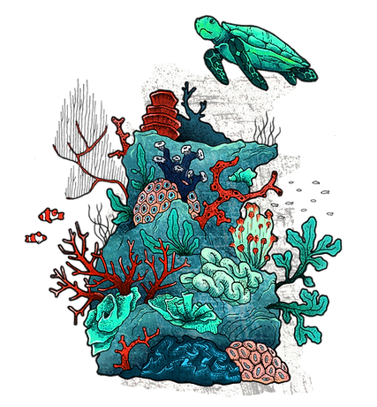A vida subaquática