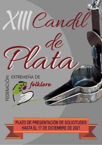 Convocatoria del XIII Premio CANDIL DE PLATA