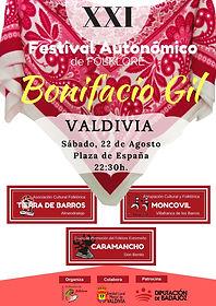 Festival BONIFACIO GIL 2020 - VALDIVIA.j