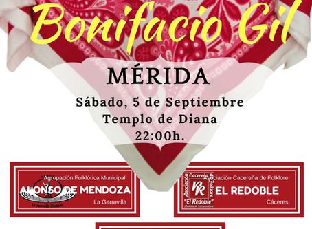 """XXI Festival Autonómico de Folklore """"BONIFACIO GIL"""" - Sede Mérida"""