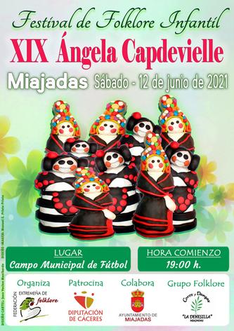 """XIX Festival Infantil """"ÁNGELA CAPDEVIELLE"""""""