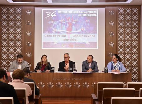 Rueda de Prensa - Diputación de Badajoz