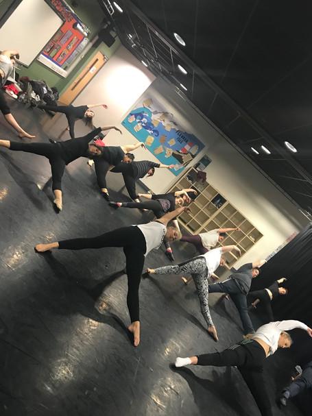 Adult Advanced Dance Class