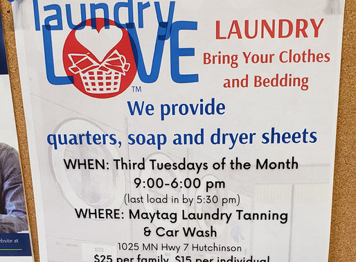 Upcoming Laundry Love Dates