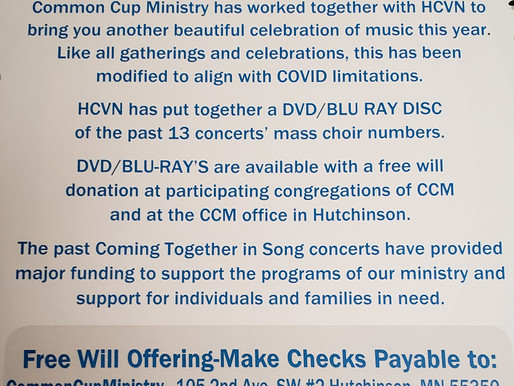 Coming Together in Song DVD