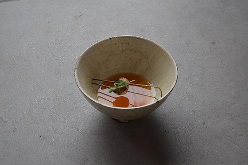 粉引き飯茶碗 / 奈良 /21世紀