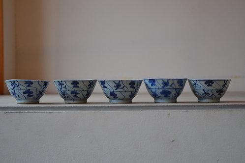 なずな手 小鉢 / 中国 / 20世紀