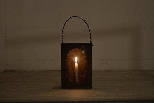 酒蔵で使われていたブリキの燈火器 /大正
