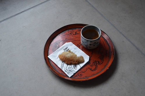 中野様専用 / 根来丸盆+木皿