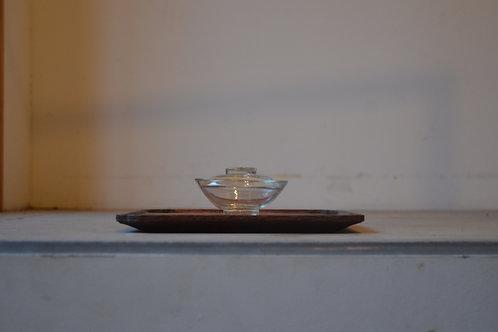 ガラスの蓋碗