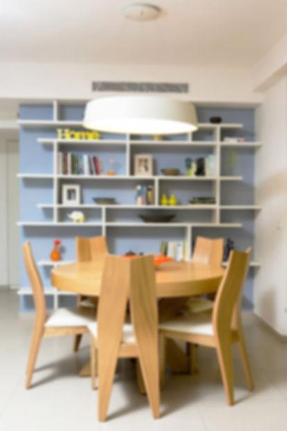 רהיטים מעוצבים מעץ - שולחן   אסטרו נגריית רהיטים