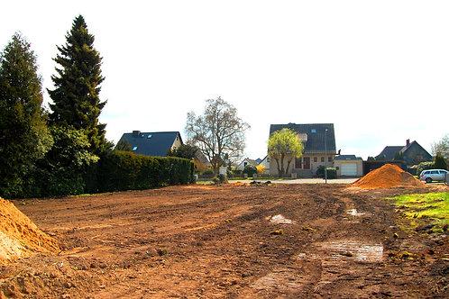 Nahe HH-Duvenstedt: Letztes sonniges Süd-West-Grundstück mit ca. 408 m²