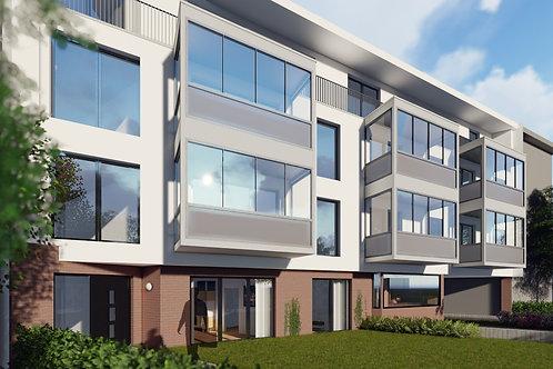 Letzte Wohnung – Neubau eines MFH mit 23 komfortablen und barrierearmen ETWs