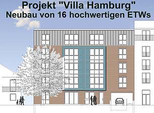 Projekt Villa Hamburg durch Immobilienmakler aus Quickborn