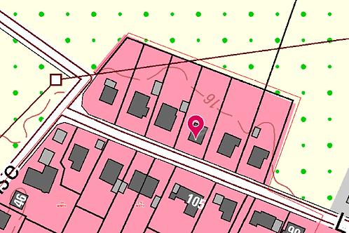 Feldrandlage: 900 m²-Grundstück in ruhiger Nebenstraße von Rellingen für EFH/DH