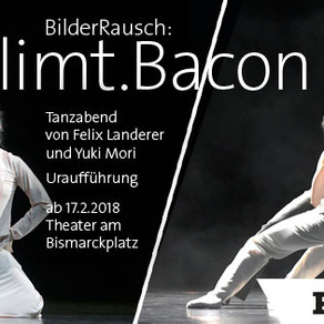 レーゲンスブルク2018年冬の新作「BilderRausch: Klimt.Bacon」
