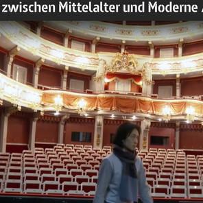 テレビ出演。「Regensburg, zwischen Mittelalter und Moderne / Metropolis」(レーゲンスブルグ、中世と現代の狭間/メトロポリス)