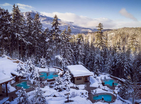 Dive in: HydroTherapy @ Scandinave Spa, Whistler