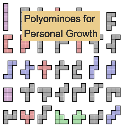 "Online ""Polyominoes for Personal Growth"" (July 6, 13, and 20)"