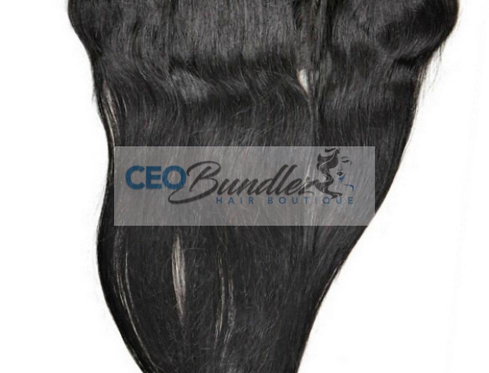 Brazilian Silky Straight Lace Frontal