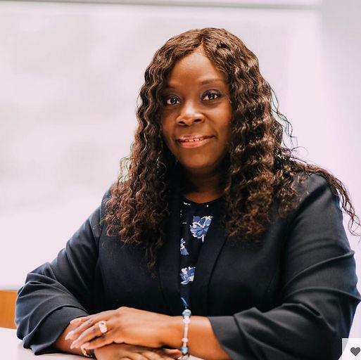 CEO Monica Johnson wearing Spanish Wave