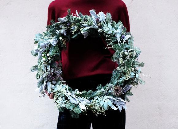 Succulent Wreath 多肉植物花圈