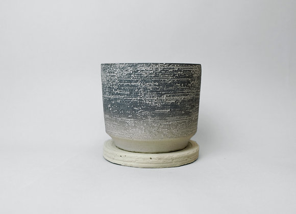 Cylinder Pot - Charcoal