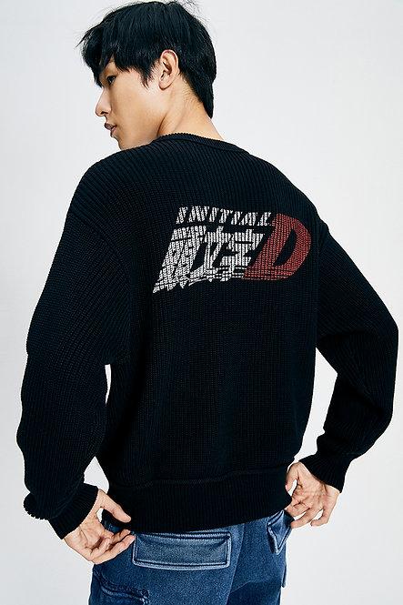 頭文字D系列寬鬆針織冷衫