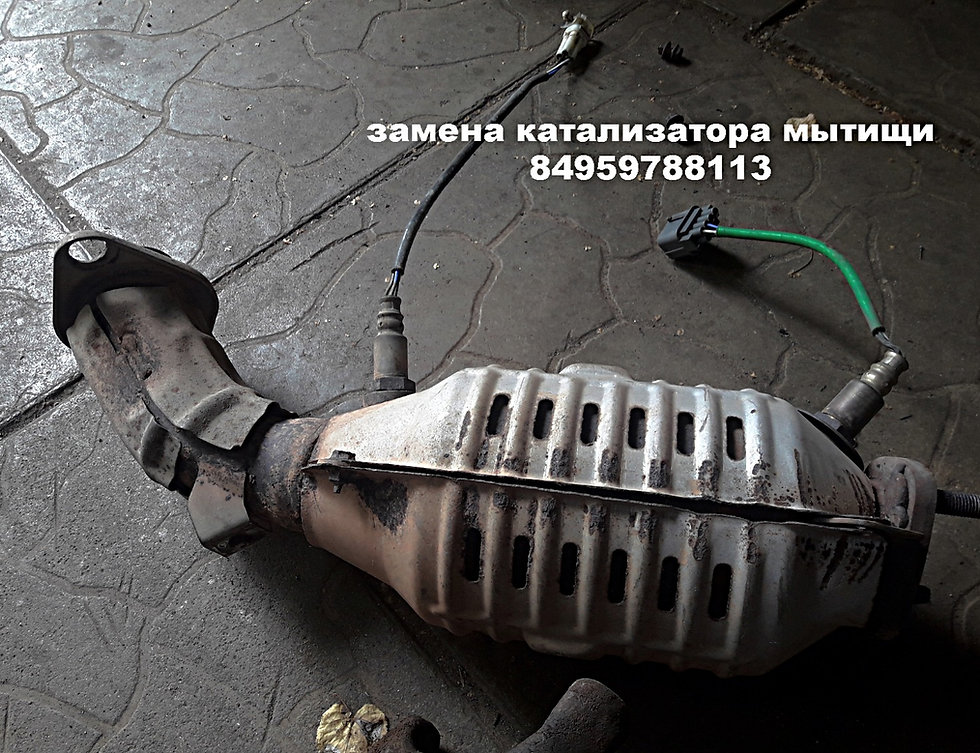 замена катализатора на сузуки