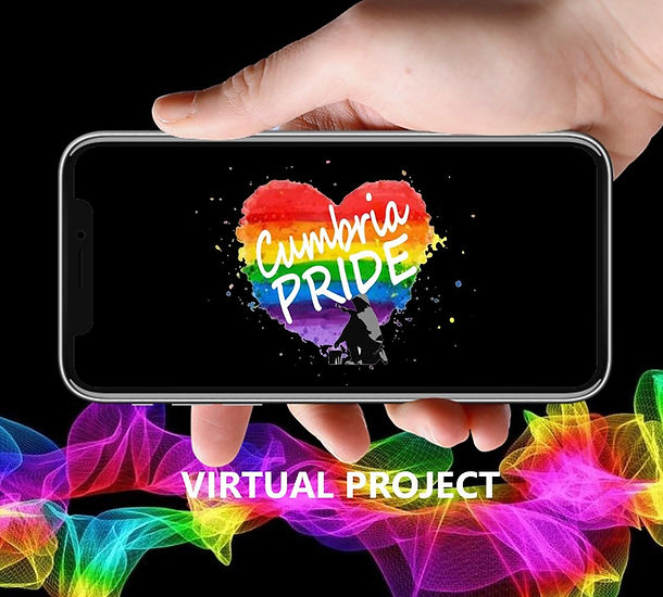 Cumbria Pride's Virtual Project