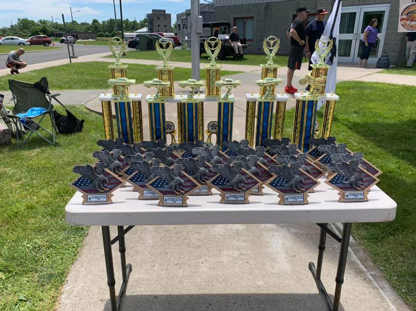 2019 winners trophies