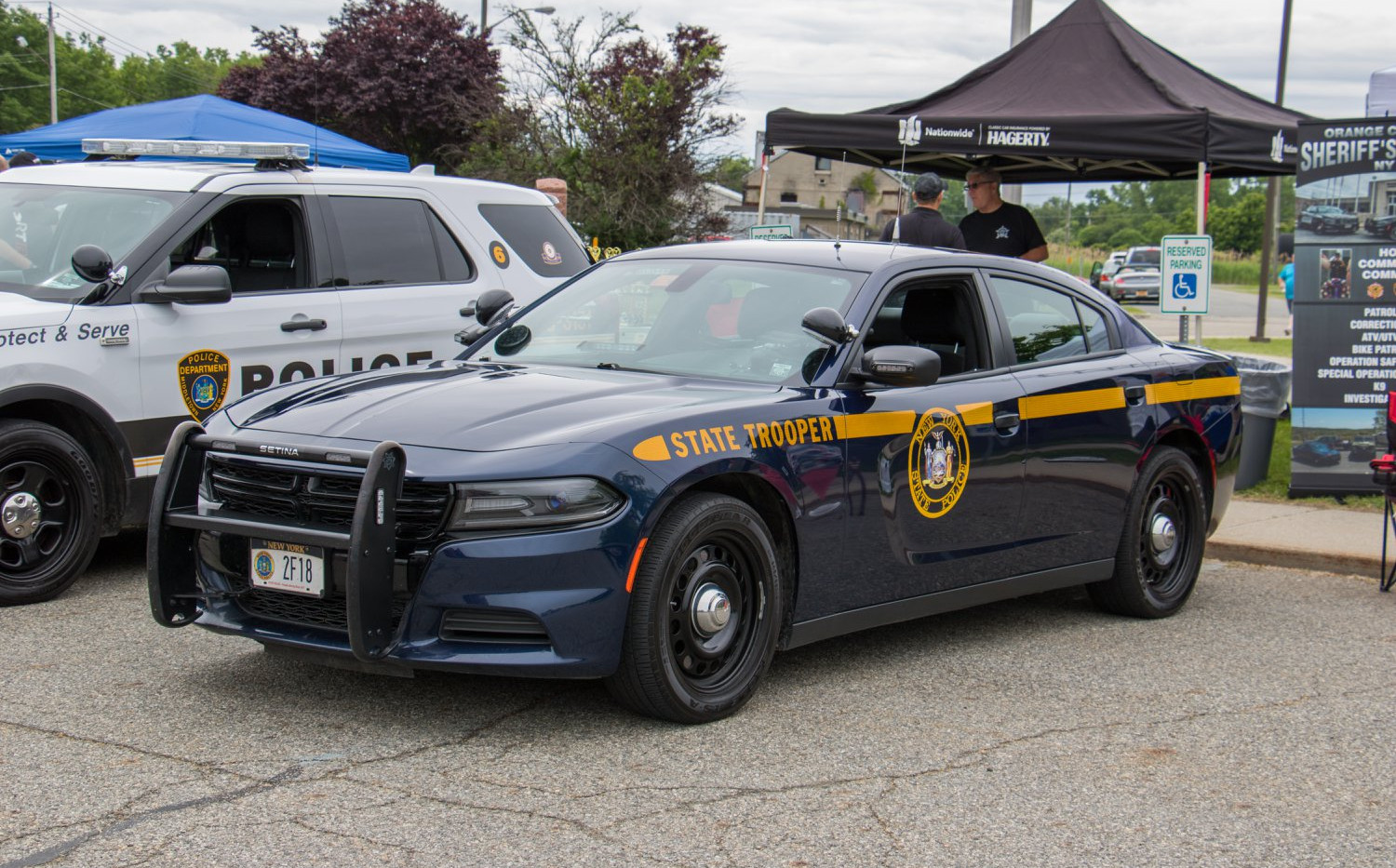 new york state police car