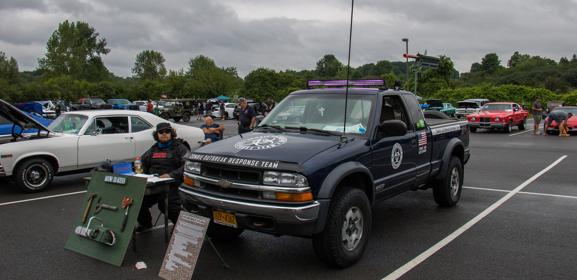 zombie response truck