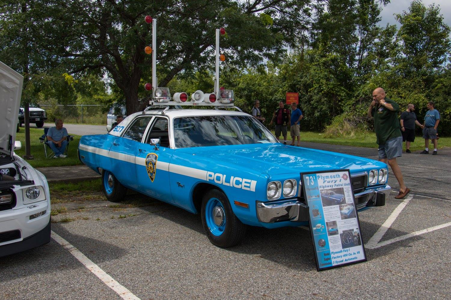 NYPD highway car