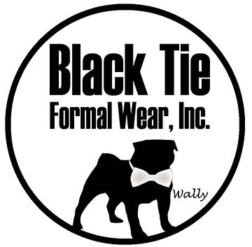 Black Tie Formal Wear Inc - Round   Wall