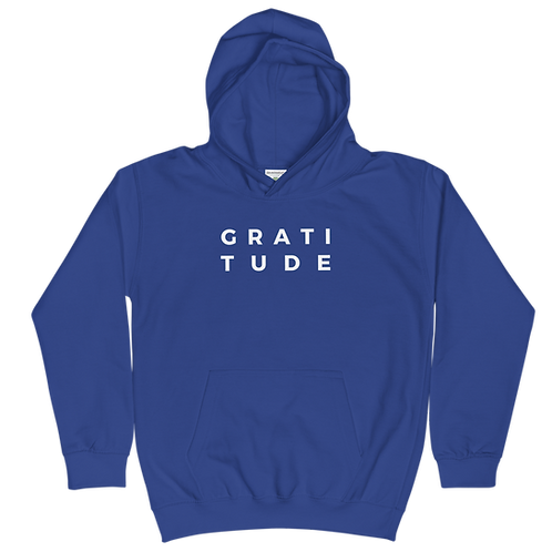Kids Hoodie - Gratitude