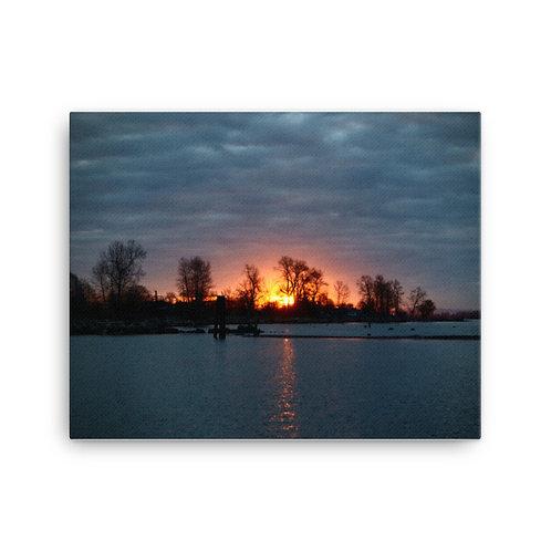 """Canvas Print - Horizon of Silhouettes (16"""" x 20"""")"""