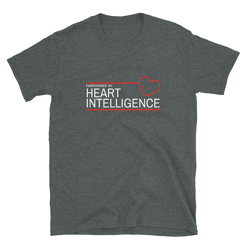 Men's or Women's Short-Sleeve T-Shirt - Empowered by Heart Intelligence
