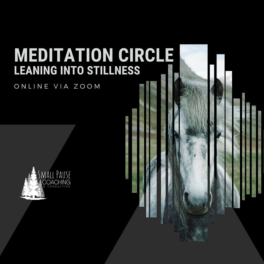 Online Meditation Circle - Leaning into Stillness