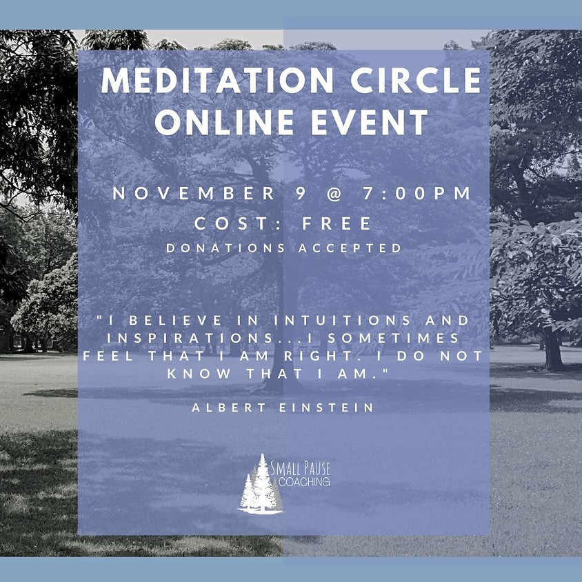 Online Guided Meditation - Accessing Intuition