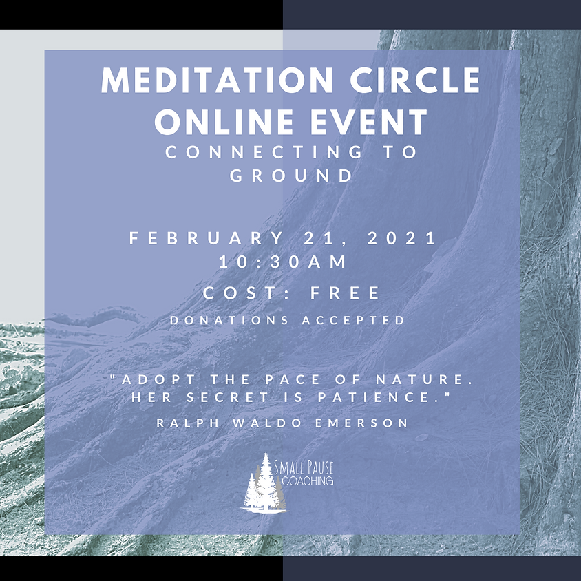 Online Guided Meditation - Connecting to Ground