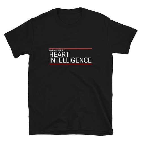 Men's or Women's Short-Sleeve T-Shirt - Empowered by Heart Intelligence