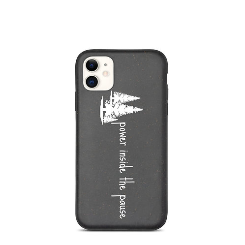 Biodegradable Iphone case - Power Inside the Pause