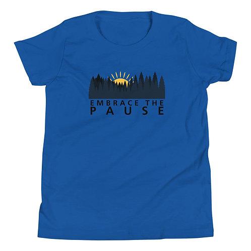 Youth Short Sleeve T-Shirt - Embrace the Pause (Sunrise)