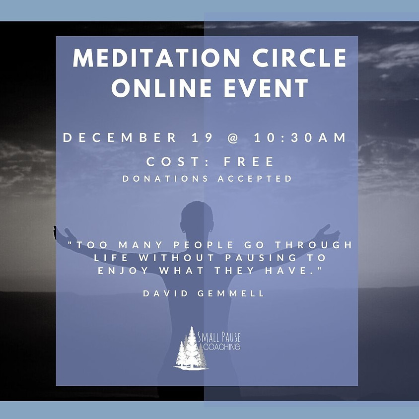 Online Guided Meditation - Embrace The Pause