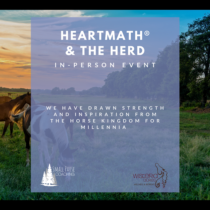 Surviving to Thriving – HeartMath® and the Herd